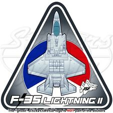 F-35 LIGHTNING II NIEDERLANDE Luftwaffe RNLAF Lockheed F-35A JSF Aufkleber