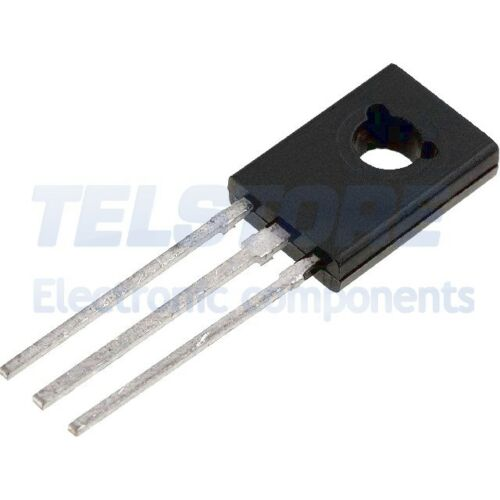 3pcs BD676AS Transistor PNP bipolare Darlington 45V 4A 14W TO225AA FAIRCHILD
