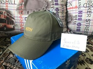 Image is loading Nwt-Adidas-X-Kith-Soccer-Cap-Olive 833804264c0