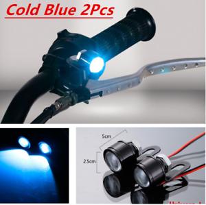 Pair-Motorcycle-Spotlight-Cold-Blue-LED-Daytime-Running-Lights