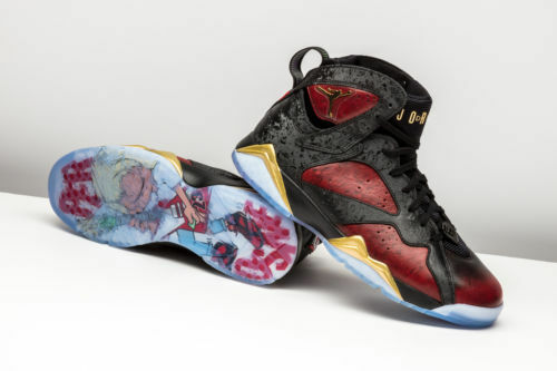 NIKE AIR JORDAN VII (7)RETRO DB (DOERNBECHER)..MULTI-COLOR..WOMEN 5.5 or YOUTH 4