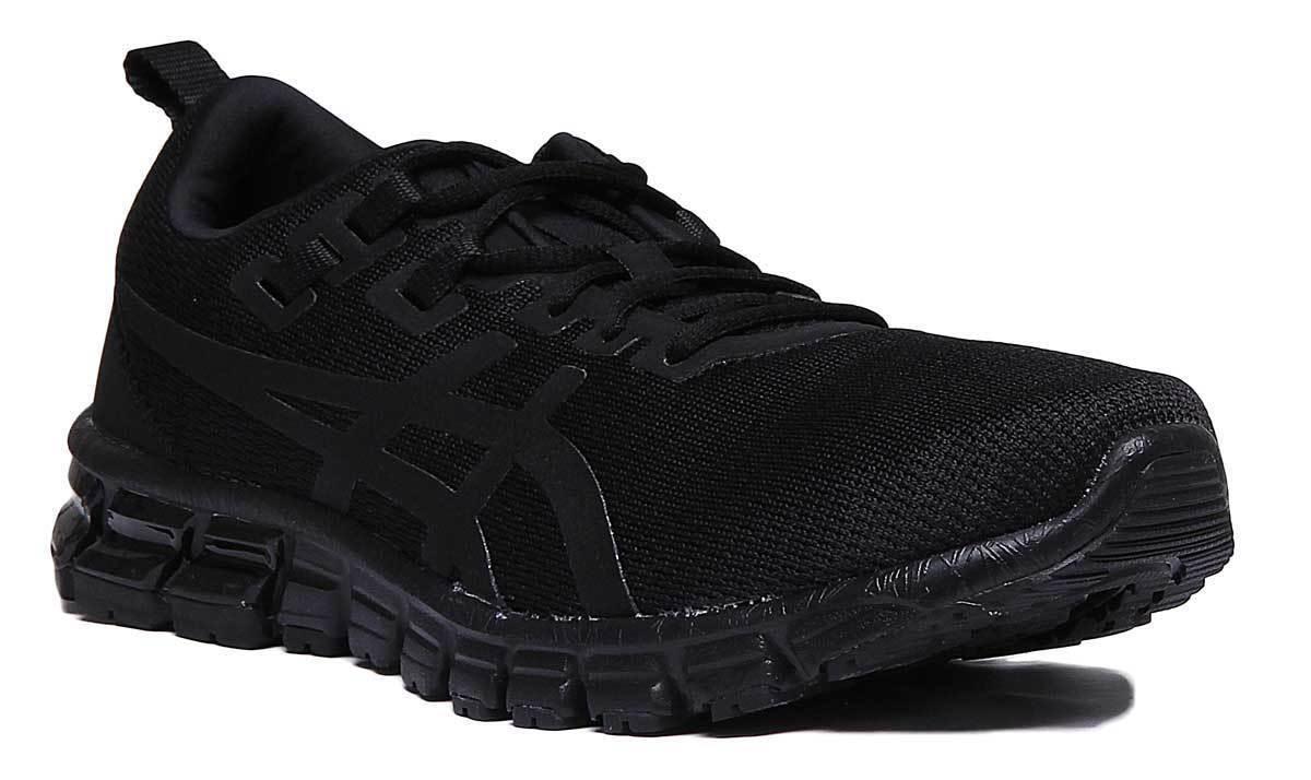 Asics Gel Quantum 90 Hombres Malla negro Zapatillas tamaño de Reino Unido 6 - 12