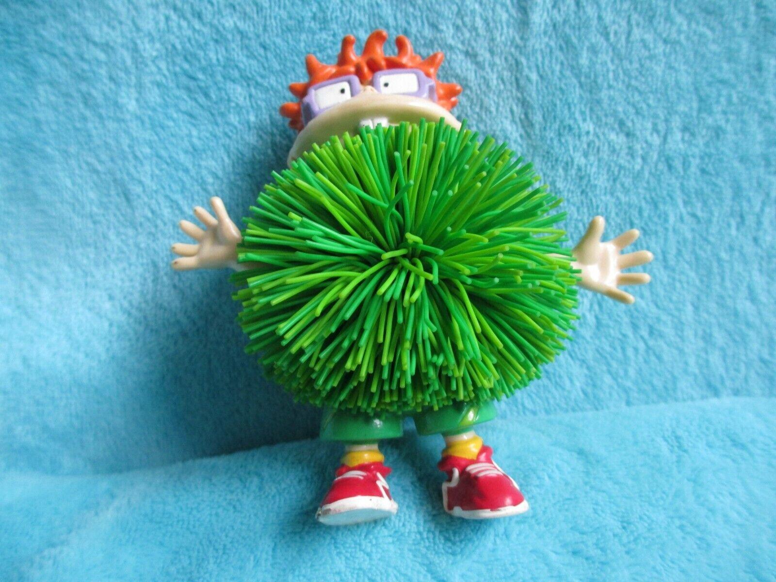 1998 OddzOn Rugrats - CHUCKIE FINSTER - 4  Practice Tennis Koosh Ball Figure Toy