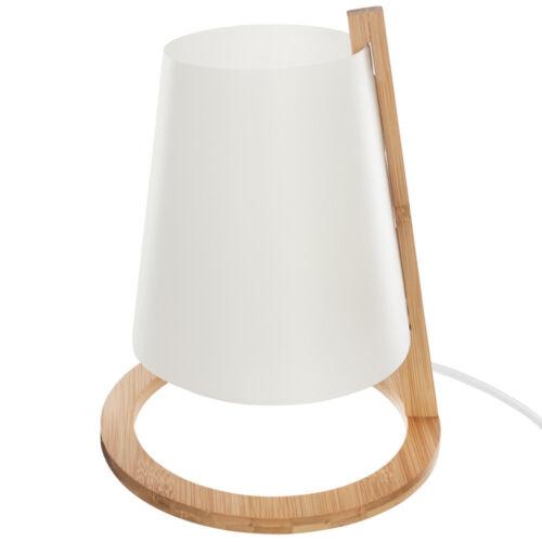 Tischlampe Bambus Lampe Tischleuchte Nachttischlampe Nachttischleuchte ✅H:26cm