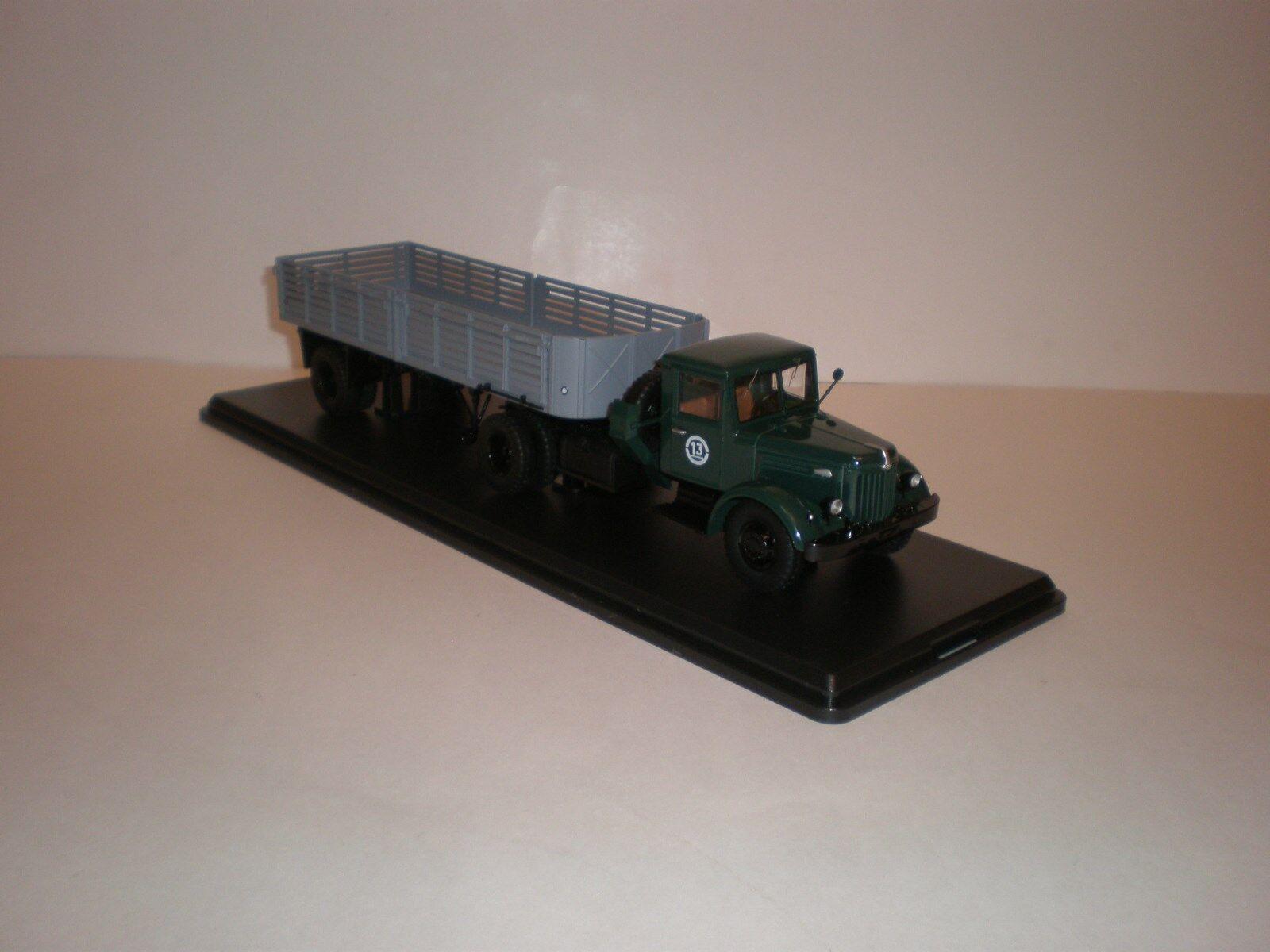 la calidad primero los consumidores primero 1 43 Modelos Modelos Modelos Escala de inicio SSM camión ZIL-200V con samitrailer MAZ-5215  precios mas baratos