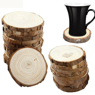 Wooden Coasters Coffee Drink Tea Cup Mat Musical Instrumental Store Decor