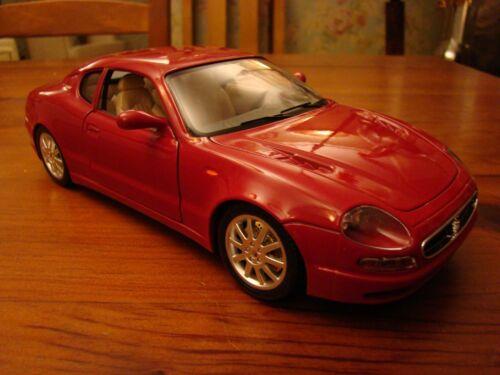 1/18 Maserati 3200 Gt V8 Coupe Merlot avec feux arrière Sabbia Boomerang Rare