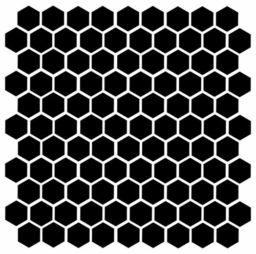 """104 1/"""" Vinyl Stickers Bee Honey Home Accent Geometric Die Cut Decal Honeycomb"""