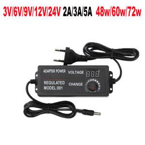 12V//24V 3A//5A//10A Trafo Netzteil Netzadapter Driver f.LED SMD RGB Strip Streifen
