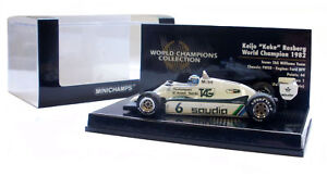 Minichamps Williams Fw08 1982 - Champion du Monde Keke Rosberg au 1/43 4012138053243