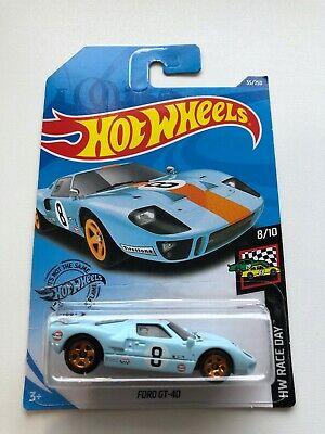 Hot wheels 2020 FORD gt-40 Gulf HW Race Day 8//10 ghc55