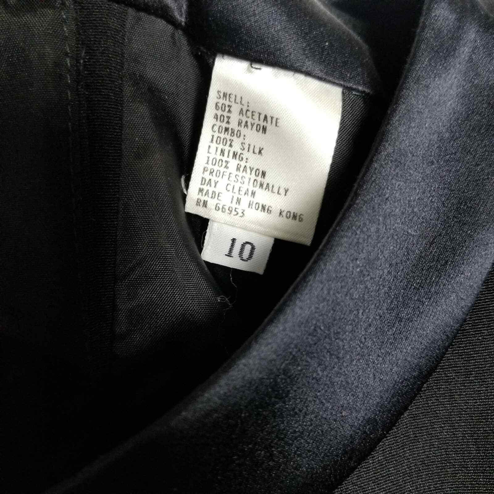 Albert Nipon Vintage Silk Pleat Sleeve Dress WOME… - image 7