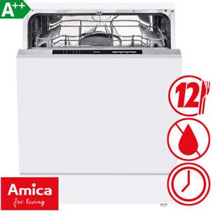 Amica Einbau Geschirrspüler vollintegriert Spülmaschine Spüler Aquastop A++ 60cm