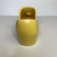thumbnail 4 - McCoy Yellow Ceramic Clog Planter