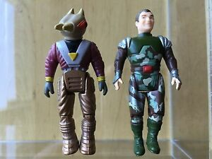 DINO RIDERS Parts 1986 Fang /& Mercury series 1 action figure Tyco