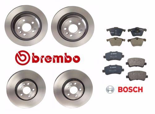 For Volvo S60 S80 V70 Front /& Rear Disc Brake Brembo Rotors /& Bosch Pads Kit