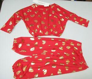 NWT Gymboree Valentine I Love You Pajamas Sz 2T /& 3
