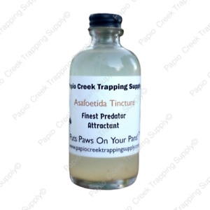PCTS-Brand-Asafoetida-Tincture-Predator-Attractant-4-Ounces-Fur-Trappers