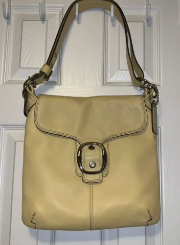 Vintage Classic COACH Leather Bleeker Shoulder Bag