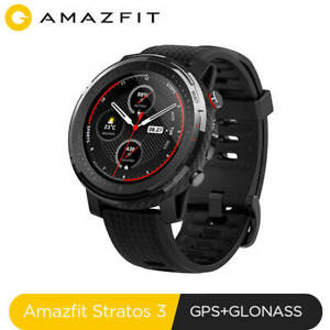 NEW!!! Xiaomi Amazfit Stratos 3 Waterproof Smart Watch with GPS