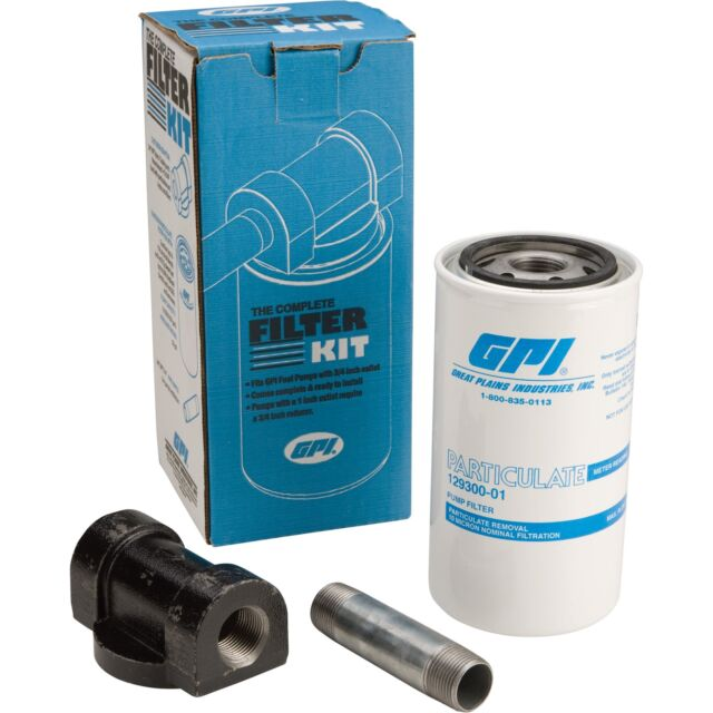 40 gpm GPI 133537-01 Fuel Filter Kit 30 Micron