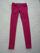 TU brand neon pink colour skinny style jeans Size 8 L