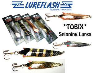 Toby lure type tobix best spinning lures for salmon for Best salmon fishing lures