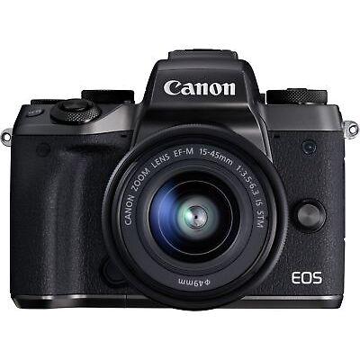 Canon New EOS M5 Single Kit
