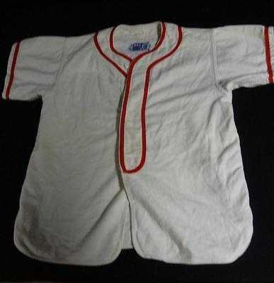 """Awesome Vintage Per Bambini Baseball Uniforme """" Moore Idraulici """" Nice Prezzo Ragionevole"""