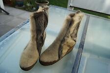 SCHAPURO Damen Winter Schuhe Stiefel Boots Pelzstiefel Gr.41 Lammfell gefüttert