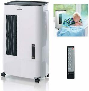Honeywell-Indoor-Portable-Evaporative-Cooler-with-Fan-Humidifier-176-CFM-Remote
