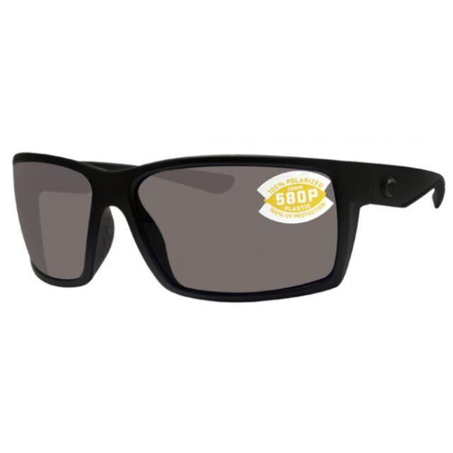 6bdd8fafd79 Costa Del Mar Sunglasses - Polarized Reefton Blackout Gray 580p RFT ...