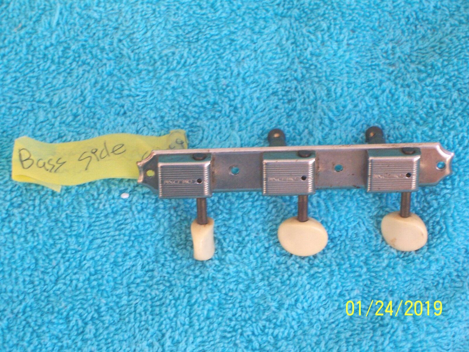 Original Vintage Kluson bass side single line Plate tuner J45 Gibson Les Paul Jr.