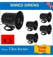 Wired 118 Decibel Siren Trade Pack.