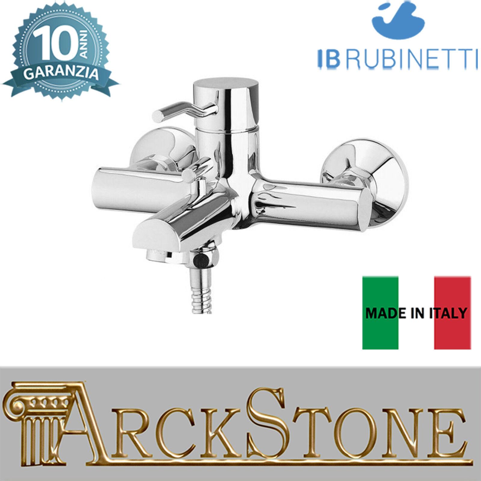 Miscelatore gruppo vasca esterno parete accessori doccia IB rubinetti Kusasi