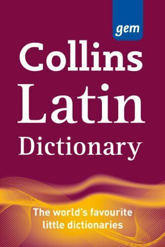 1 of 1 - Collins Gem Latin Dictionary (Collins Gem) by Collins Dictionaries 0007224141
