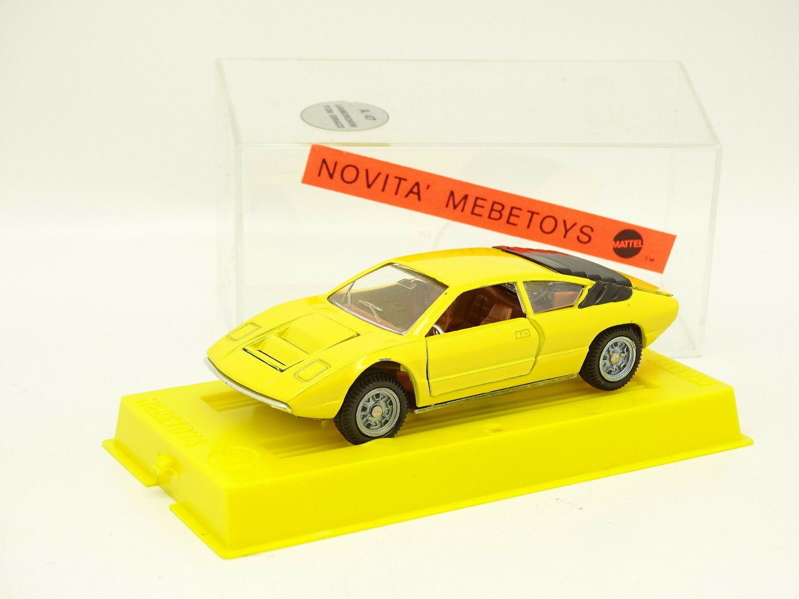 Mebetoys 1 43 - Lamborghini Urraco giallo