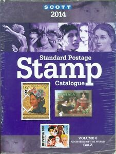 SCOTT-2014-STANDARD-STAMP-CATALOG-VOLUME-6-SAN-Z-COUNTRIES-OF-THE-WORLD