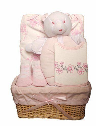 New Baby Clothes Gift  Box Set Hamper Basket Pink Blue Boy Girl Kris X Kid