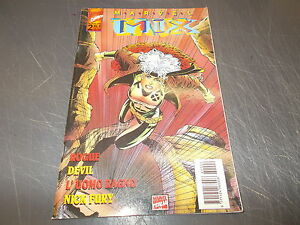 MARVEL-MIX-N-2-ROGUE-DEVIL-L-039-UOMO-RAGNO-NICK-FURY-MAGGIO-1996-Spider-Man-qOTTIMO