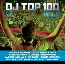 DJ TOP 100 vol.1 (Tiesto, Afrojack, r3hab, Martin Garrix, Avicii,...) 5 CD NUOVO