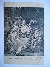"""CPA """"Pau - Le château - Henri IV chez le meunier (tapisserie)"""""""