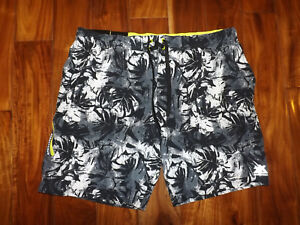 4991606ee5 NWT Mens ZeroXposur Gray Blade Swim Trunks Board Shorts Swimsuit XXL ...