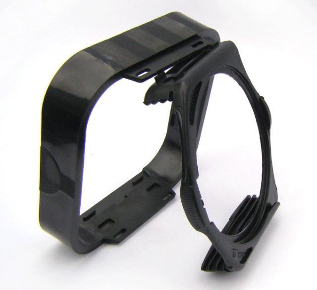 Square Lens Filter Hood for Cokin P series color filter holder Sunshade Black