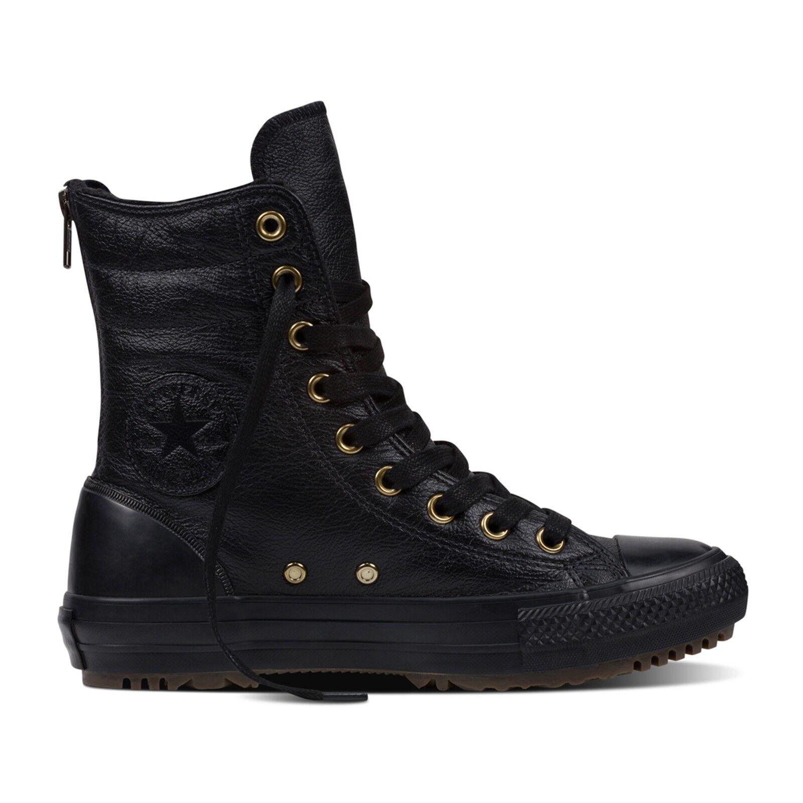 Converse - Hi-Rise Boot Leder Leder + Fur Zipper Leder Boot Gefüttert Winter Herbst Damen 9ff9ca