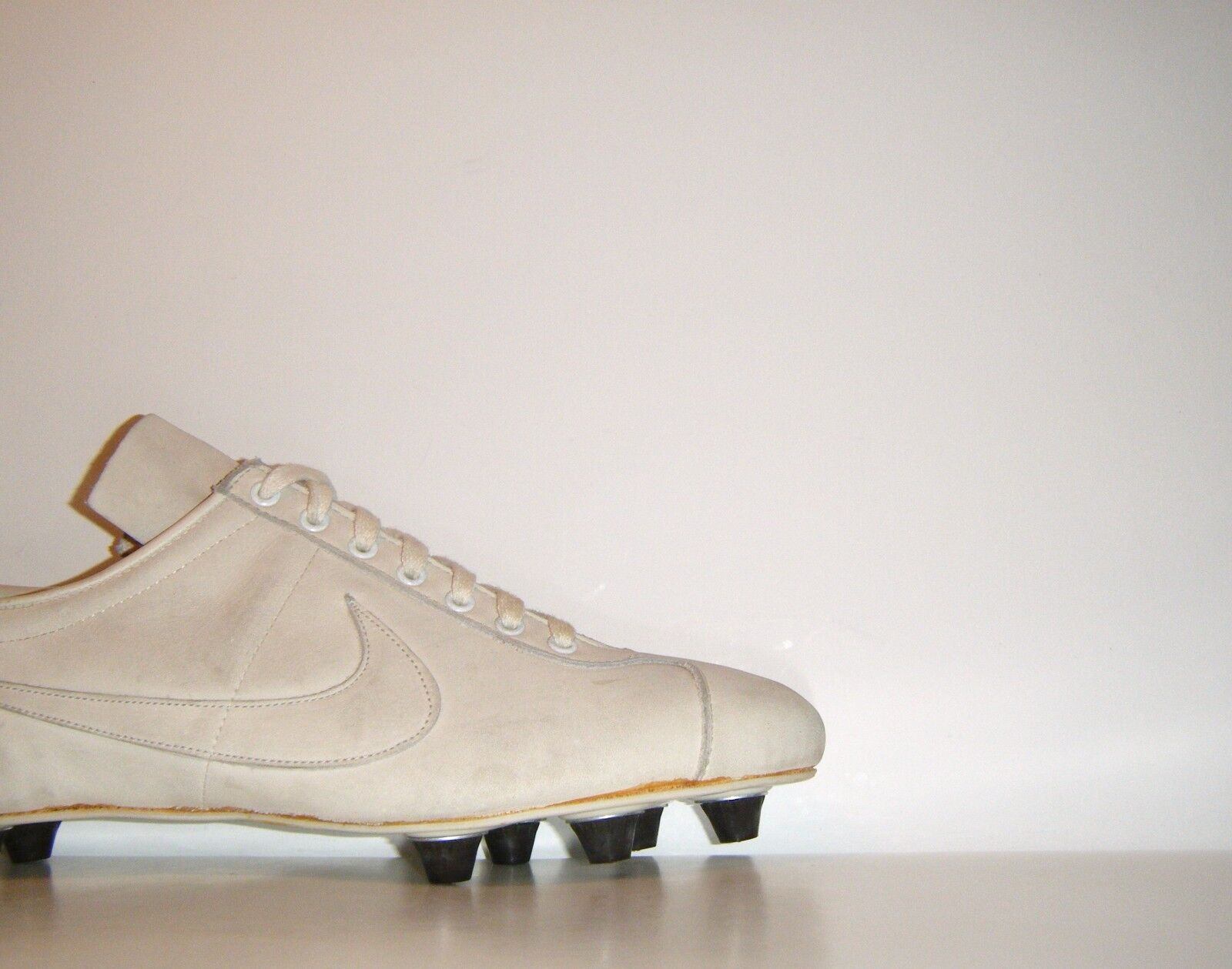 Vtg 80's Nike Handmade Cleats Oregon Sample 10.5 Mercurial Vapor Waffle PE 70's