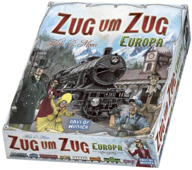 Days of Wonder 200098 - Zug um Zug Europa Pro Ludo - Days of Wonder Days of Wond