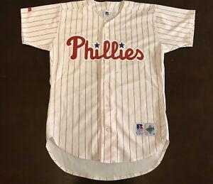 9dd060a660b Image is loading Vintage-Russell-Athletic-MLB-Philadelphia-Phillies-Baseball -Jersey