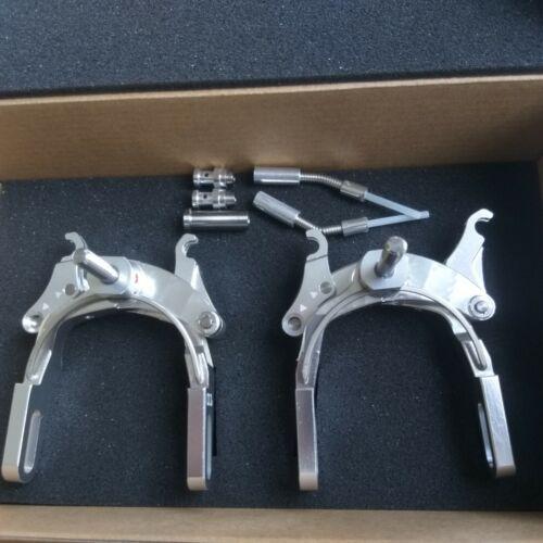 CNC Alloy Long arm C brake For Brompton Folding bike caliper brake fit mudguard