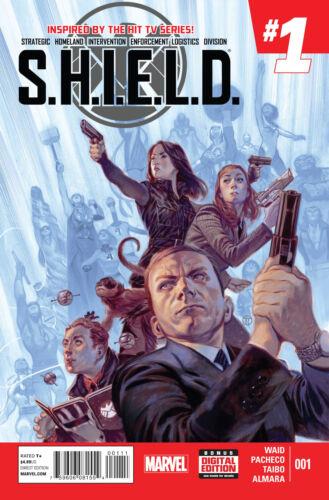 SHIELD #1 Marvel Comics 2015 Agents of Shield 1st Print TV Show Coulson Daisy